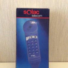 Segunda Mano: TELÉFONO SOLAC TELECOM NUEVO MODELO 3243VINTAGE EN CAJA CON INSTRUCCIONES. Lote 206446857