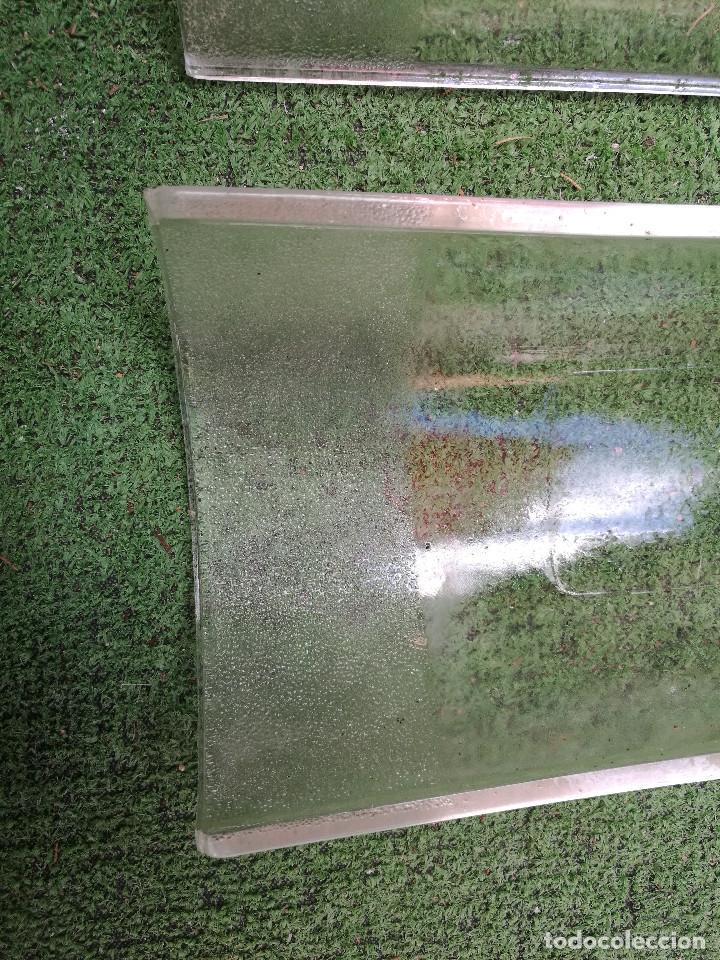 Segunda Mano: 2 TEJAS DE CRISTAL - Foto 2 - 206454358