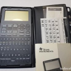 Segunda Mano: CALCULADORA DIGITAL PLANNER TEXAS INSTRUMENTS CON MANUAL 1995. Lote 206509330