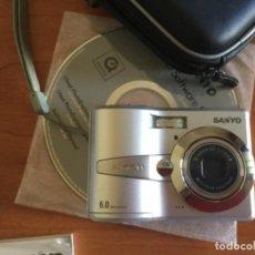 Segunda Mano: CÁMARA DE FOTOS DIGITAL SANYO XACTI S60. NUEVA. Lote 206561192