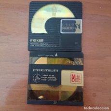 Segunda Mano: 2 MINI DISC GRABABLES DE 74 MIN.. Lote 206578442
