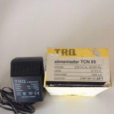 Segunda Mano: TRANSFORMADOR ALIMENTADOR TRQ TCN.05 230V SALIDA 12V. C.C 450MA JJ1. Lote 206860357