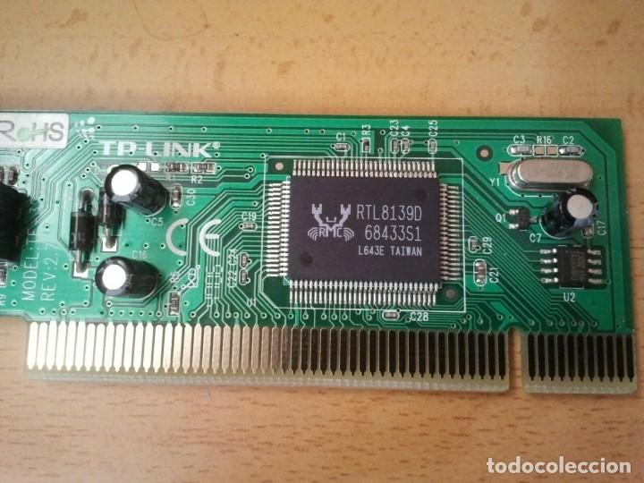 Segunda Mano: Tarjeta de Red TP-LINK mod. TF-3239DL ver. 2.7. Ibm hp sony Apple Lenovo Dell - Foto 5 - 206894205