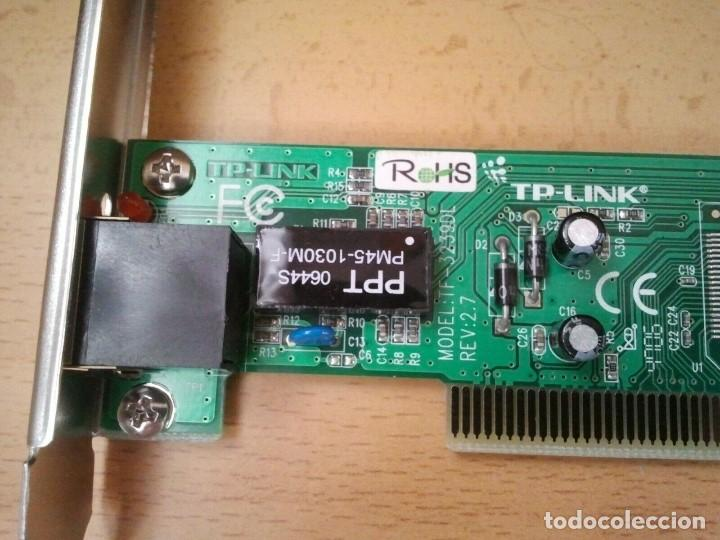 Segunda Mano: Tarjeta de Red TP-LINK mod. TF-3239DL ver. 2.7. Ibm hp sony Apple Lenovo Dell - Foto 6 - 206894205