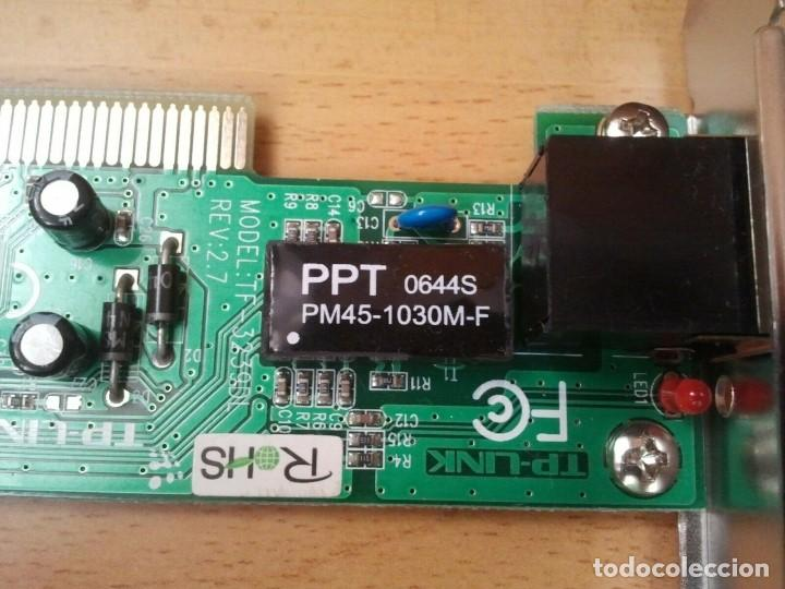 Segunda Mano: Tarjeta de Red TP-LINK mod. TF-3239DL ver. 2.7. Ibm hp sony Apple Lenovo Dell - Foto 9 - 206894205