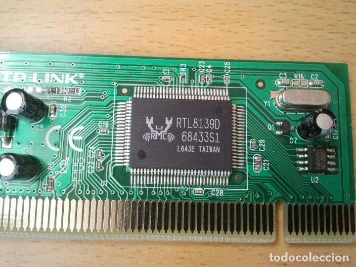 Segunda Mano: Tarjeta de Red TP-LINK mod. TF-3239DL ver. 2.7. Ibm hp sony Apple Lenovo Dell - Foto 10 - 206894205