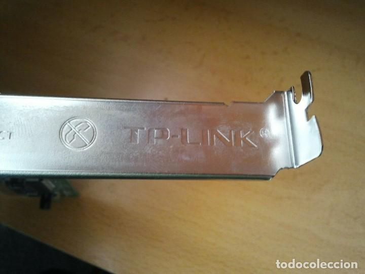 Segunda Mano: Tarjeta de Red TP-LINK mod. TF-3239DL ver. 2.7. Ibm hp sony Apple Lenovo Dell - Foto 11 - 206894205