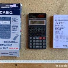 Segunda Mano: CALCULADORA CASIO FX - 992 S . CON FOLLETO Y CAJA . SIN USO .. Lote 207207640