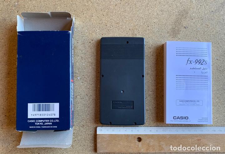 Segunda Mano: CALCULADORA CASIO fx - 992 s . CON FOLLETO Y CAJA . SIN USO . - Foto 2 - 207207640