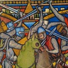Seconda Mano: CUADRO BIBLIA DE LOS CRUZADOS. Lote 207277006