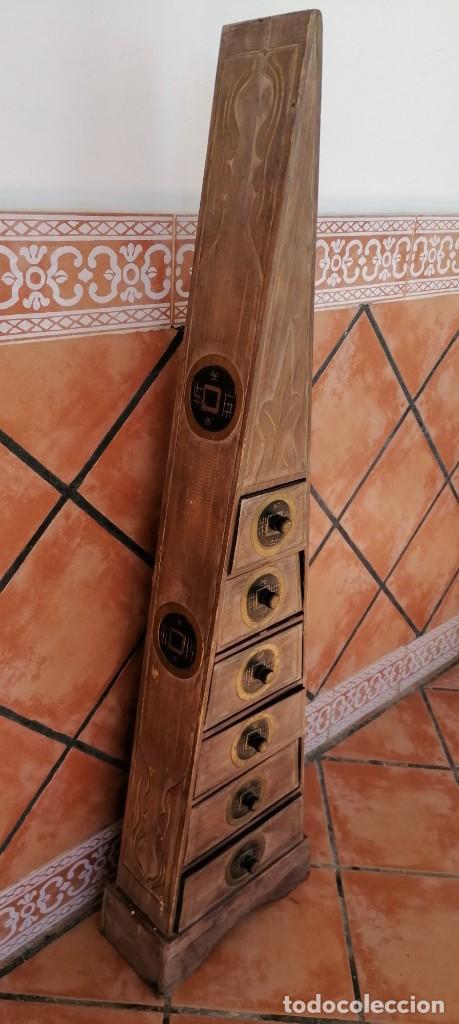 Segunda Mano: MUEBLE PIRÁMIDE CON 6 CAJONERAS, HECHO A MANO, SEGUNDA MANO - Foto 2 - 207284852