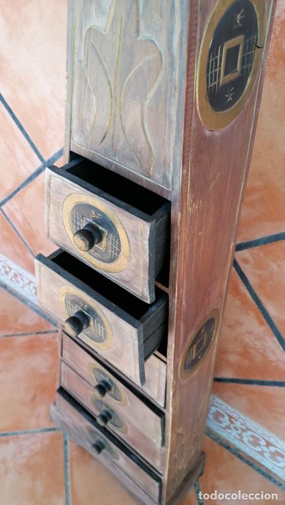 Segunda Mano: MUEBLE PIRÁMIDE CON 6 CAJONERAS, HECHO A MANO, SEGUNDA MANO - Foto 4 - 207284852