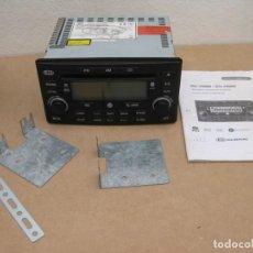 Segunda Mano: AUTORADIO KIA XCD-230 RDS MP3 BLUETOOTH TELÉFONO.. Lote 207285732