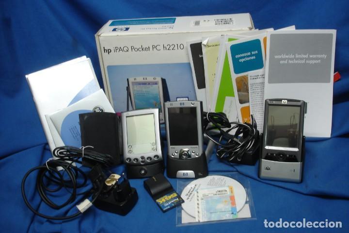 GRAN LOTE DE: HP IPAQ POCKET PC H2210 + HP IPAQ POCKET PC 2003 + PALM POWERED (Segunda Mano - Artículos de electrónica)