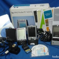 Segunda Mano: GRAN LOTE DE: HP IPAQ POCKET PC H2210 + HP IPAQ POCKET PC 2003 + PALM POWERED. Lote 207775728