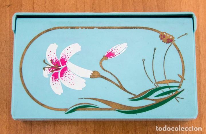 Segunda Mano: Caja joyero con departamentos y espejo desplegable. - Foto 2 - 207802441