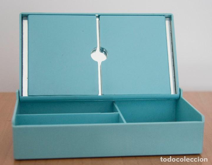 Segunda Mano: Caja joyero con departamentos y espejo desplegable. - Foto 5 - 207802441
