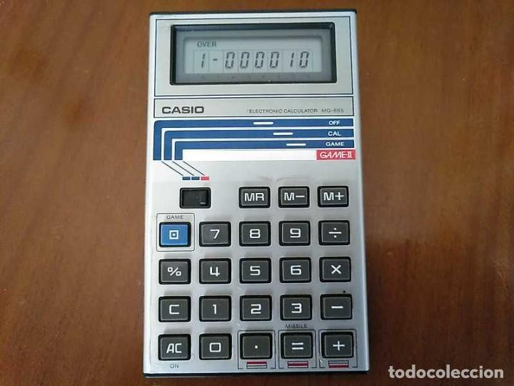 Segunda Mano: CALCULADORA JUEGO CASIO MG-885 GAME II ELECTRONIC CALCULATOR MADE IN JAPAN COMPLETA SIN USAR AÑOS 80 - Foto 7 - 208169318