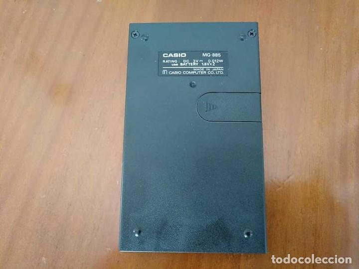 Segunda Mano: CALCULADORA JUEGO CASIO MG-885 GAME II ELECTRONIC CALCULATOR MADE IN JAPAN COMPLETA SIN USAR AÑOS 80 - Foto 8 - 208169318