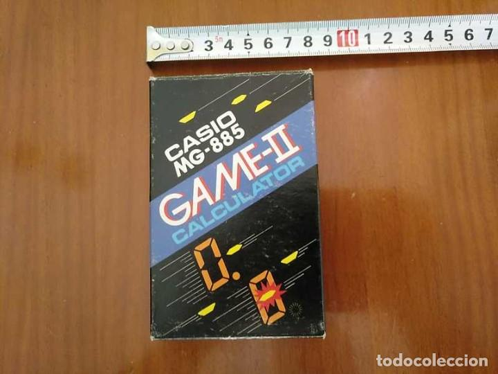 Segunda Mano: CALCULADORA JUEGO CASIO MG-885 GAME II ELECTRONIC CALCULATOR MADE IN JAPAN COMPLETA SIN USAR AÑOS 80 - Foto 9 - 208169318