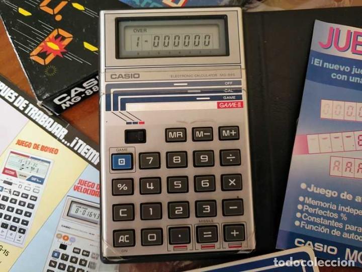 Segunda Mano: CALCULADORA JUEGO CASIO MG-885 GAME II ELECTRONIC CALCULATOR MADE IN JAPAN COMPLETA SIN USAR AÑOS 80 - Foto 14 - 208169318