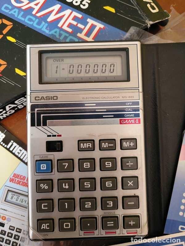 Segunda Mano: CALCULADORA JUEGO CASIO MG-885 GAME II ELECTRONIC CALCULATOR MADE IN JAPAN COMPLETA SIN USAR AÑOS 80 - Foto 15 - 208169318
