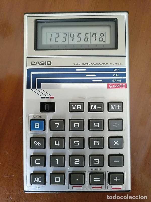 Segunda Mano: CALCULADORA JUEGO CASIO MG-885 GAME II ELECTRONIC CALCULATOR MADE IN JAPAN COMPLETA SIN USAR AÑOS 80 - Foto 16 - 208169318