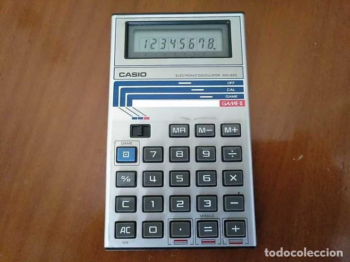 Segunda Mano: CALCULADORA JUEGO CASIO MG-885 GAME II ELECTRONIC CALCULATOR MADE IN JAPAN COMPLETA SIN USAR AÑOS 80 - Foto 17 - 208169318