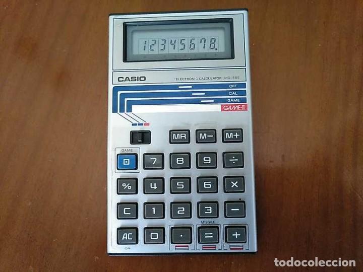 Segunda Mano: CALCULADORA JUEGO CASIO MG-885 GAME II ELECTRONIC CALCULATOR MADE IN JAPAN COMPLETA SIN USAR AÑOS 80 - Foto 21 - 208169318