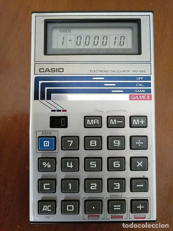 Segunda Mano: CALCULADORA JUEGO CASIO MG-885 GAME II ELECTRONIC CALCULATOR MADE IN JAPAN COMPLETA SIN USAR AÑOS 80 - Foto 23 - 208169318