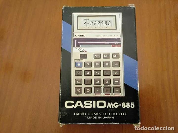 Segunda Mano: CALCULADORA JUEGO CASIO MG-885 GAME II ELECTRONIC CALCULATOR MADE IN JAPAN COMPLETA SIN USAR AÑOS 80 - Foto 28 - 208169318
