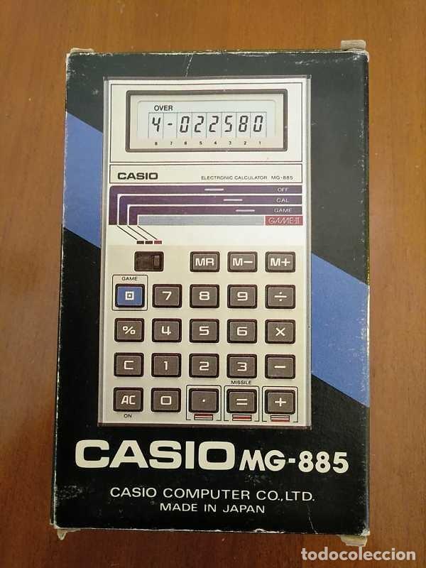 Segunda Mano: CALCULADORA JUEGO CASIO MG-885 GAME II ELECTRONIC CALCULATOR MADE IN JAPAN COMPLETA SIN USAR AÑOS 80 - Foto 29 - 208169318