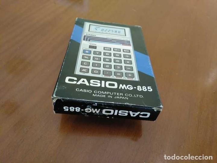 Segunda Mano: CALCULADORA JUEGO CASIO MG-885 GAME II ELECTRONIC CALCULATOR MADE IN JAPAN COMPLETA SIN USAR AÑOS 80 - Foto 33 - 208169318
