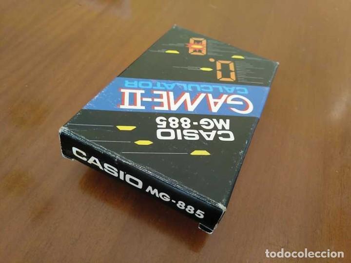 Segunda Mano: CALCULADORA JUEGO CASIO MG-885 GAME II ELECTRONIC CALCULATOR MADE IN JAPAN COMPLETA SIN USAR AÑOS 80 - Foto 35 - 208169318