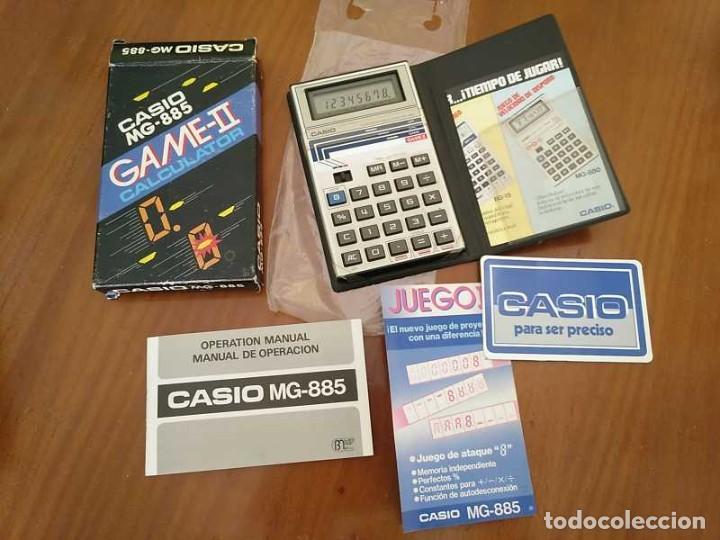 Segunda Mano: CALCULADORA JUEGO CASIO MG-885 GAME II ELECTRONIC CALCULATOR MADE IN JAPAN COMPLETA SIN USAR AÑOS 80 - Foto 42 - 208169318