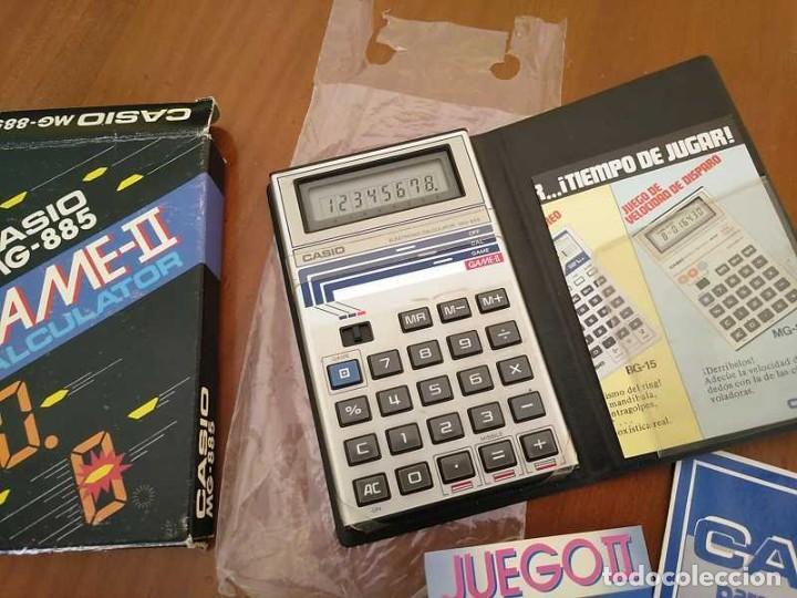 Segunda Mano: CALCULADORA JUEGO CASIO MG-885 GAME II ELECTRONIC CALCULATOR MADE IN JAPAN COMPLETA SIN USAR AÑOS 80 - Foto 44 - 208169318