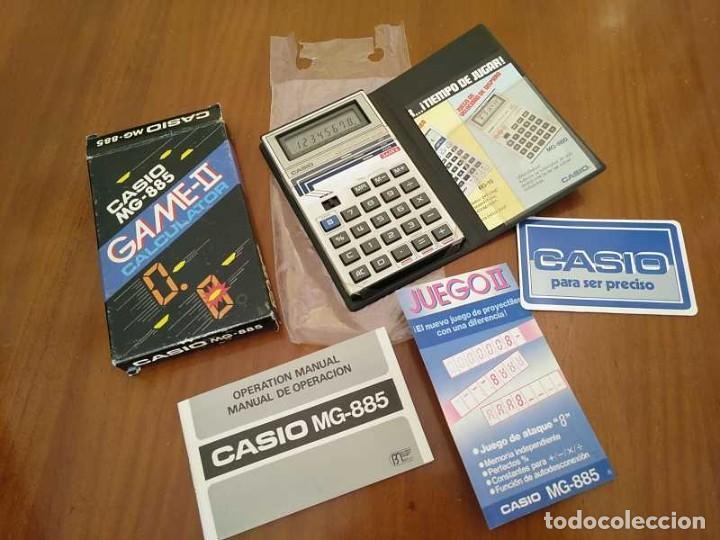 Segunda Mano: CALCULADORA JUEGO CASIO MG-885 GAME II ELECTRONIC CALCULATOR MADE IN JAPAN COMPLETA SIN USAR AÑOS 80 - Foto 45 - 208169318
