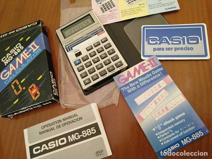 Segunda Mano: CALCULADORA JUEGO CASIO MG-885 GAME II ELECTRONIC CALCULATOR MADE IN JAPAN COMPLETA SIN USAR AÑOS 80 - Foto 51 - 208169318