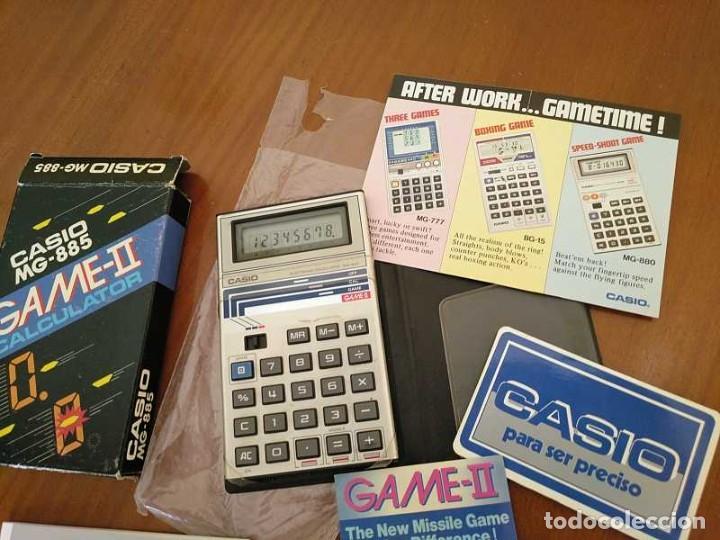 Segunda Mano: CALCULADORA JUEGO CASIO MG-885 GAME II ELECTRONIC CALCULATOR MADE IN JAPAN COMPLETA SIN USAR AÑOS 80 - Foto 52 - 208169318