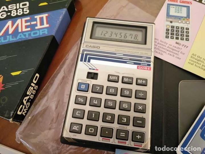Segunda Mano: CALCULADORA JUEGO CASIO MG-885 GAME II ELECTRONIC CALCULATOR MADE IN JAPAN COMPLETA SIN USAR AÑOS 80 - Foto 53 - 208169318