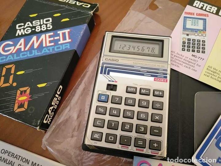 Segunda Mano: CALCULADORA JUEGO CASIO MG-885 GAME II ELECTRONIC CALCULATOR MADE IN JAPAN COMPLETA SIN USAR AÑOS 80 - Foto 54 - 208169318