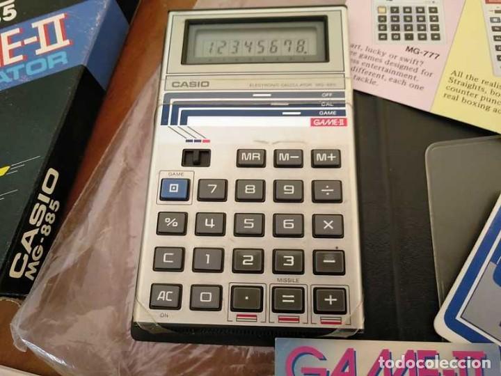 Segunda Mano: CALCULADORA JUEGO CASIO MG-885 GAME II ELECTRONIC CALCULATOR MADE IN JAPAN COMPLETA SIN USAR AÑOS 80 - Foto 55 - 208169318