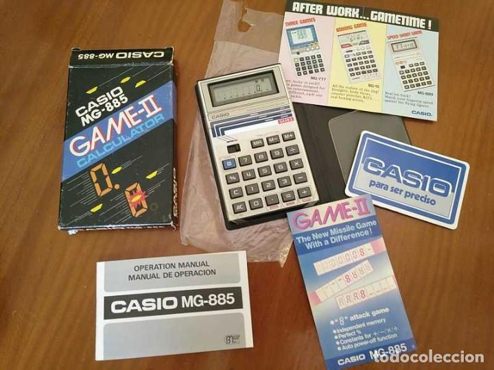 Segunda Mano: CALCULADORA JUEGO CASIO MG-885 GAME II ELECTRONIC CALCULATOR MADE IN JAPAN COMPLETA SIN USAR AÑOS 80 - Foto 56 - 208169318
