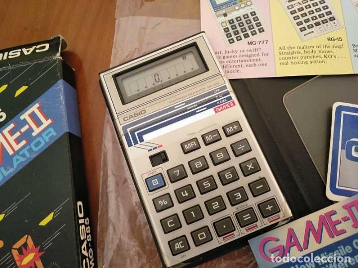 Segunda Mano: CALCULADORA JUEGO CASIO MG-885 GAME II ELECTRONIC CALCULATOR MADE IN JAPAN COMPLETA SIN USAR AÑOS 80 - Foto 57 - 208169318