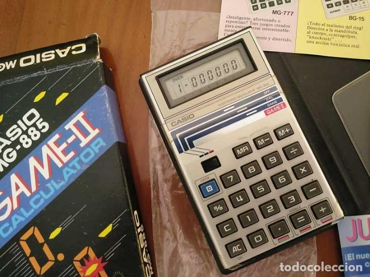 Segunda Mano: CALCULADORA JUEGO CASIO MG-885 GAME II ELECTRONIC CALCULATOR MADE IN JAPAN COMPLETA SIN USAR AÑOS 80 - Foto 59 - 208169318