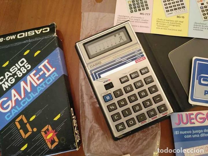 Segunda Mano: CALCULADORA JUEGO CASIO MG-885 GAME II ELECTRONIC CALCULATOR MADE IN JAPAN COMPLETA SIN USAR AÑOS 80 - Foto 61 - 208169318