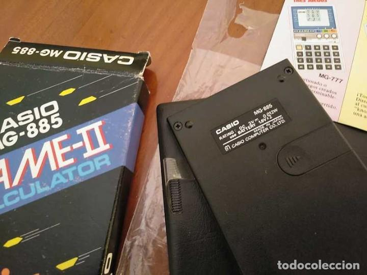 Segunda Mano: CALCULADORA JUEGO CASIO MG-885 GAME II ELECTRONIC CALCULATOR MADE IN JAPAN COMPLETA SIN USAR AÑOS 80 - Foto 65 - 208169318