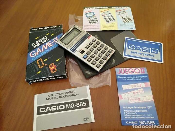 Segunda Mano: CALCULADORA JUEGO CASIO MG-885 GAME II ELECTRONIC CALCULATOR MADE IN JAPAN COMPLETA SIN USAR AÑOS 80 - Foto 67 - 208169318