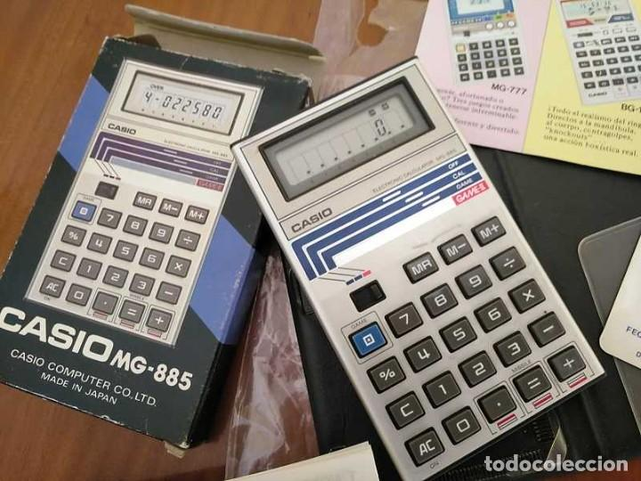 Segunda Mano: CALCULADORA JUEGO CASIO MG-885 GAME II ELECTRONIC CALCULATOR MADE IN JAPAN COMPLETA SIN USAR AÑOS 80 - Foto 70 - 208169318