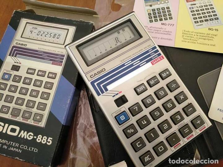 Segunda Mano: CALCULADORA JUEGO CASIO MG-885 GAME II ELECTRONIC CALCULATOR MADE IN JAPAN COMPLETA SIN USAR AÑOS 80 - Foto 72 - 208169318